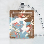 Traditional Asian-Heron Scrabble Game Tile Necklace