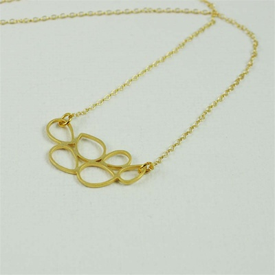 Gold Bubble Necklace