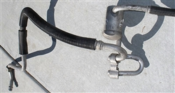 A/C Double Hose with Muffler - 93 Late Style