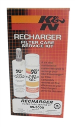 Air Filter Recharger Kit (all K & N models)