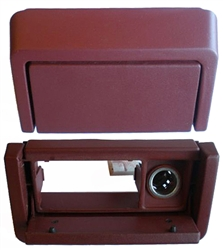Ashtray Assembly: Maroon - 87-93 : Rebuilt