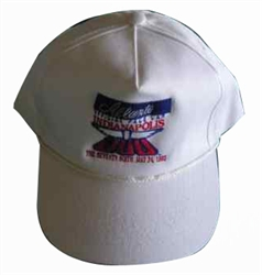 Baseball Cap - White - Official Indy 500 Cap