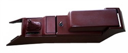 Center Console 87-92 Maroon - Rebuilt