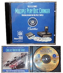 CD - Cadillac Multi Disc Changer Operating CD
