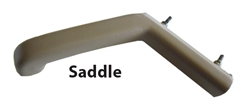 Door Pull Handle - Interior - Saddle Leather 87-89