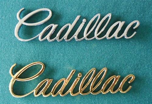 Emblem - Taillight - Cadillac Script