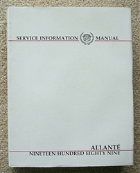 Service Manual 1989 - Used