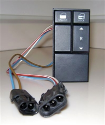 Window Switch - Passenger's Side - 1987-93 rebuilt