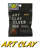 Art Clay Silver 950 Professional Clay (50g + 10% Bonus)