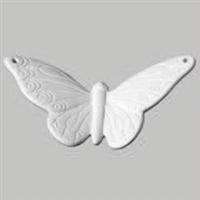 Bisque Butterfly (Unpainted, ready for glaze)