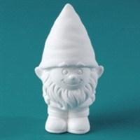 Bisque Tiny Tot Fudwick (Gnome) (Unpainted, ready for glaze)
