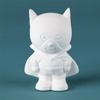 Bisque Super Boy (Unpainted, ready for glaze)