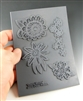 Christi Friesen Drama Blooms Texture Stamp Sheet