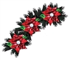 Poinsettia Stained Glass Window Ornament - December 6, 2018