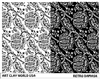 Retro Damask Low Relief Texture Plate 5.5x4.25
