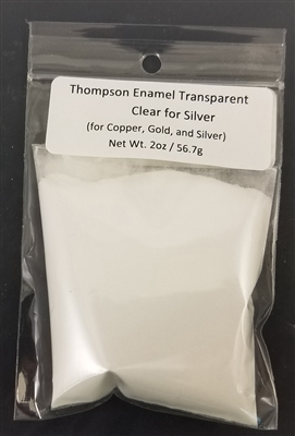 Clear Enamel for Silver - 2 oz.