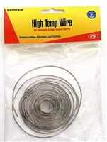 High Temp Wire for Glass, 17ga