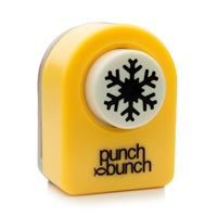 Aspen Snowflake Punch Small