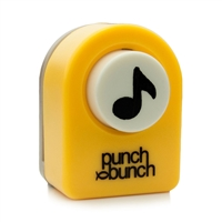 Music Note Punch Small