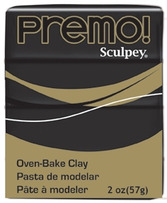 Premo Sculpey  Clay - Black
