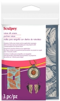 Sculpey Silk Screen Set- Nature