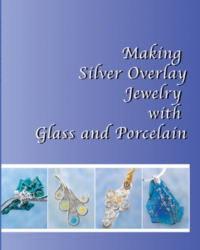 Silver Overlay Jewelry with Glass and Porcelain