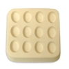 "12 Miniovals Frit Mold -1/2"" to 3/4"""