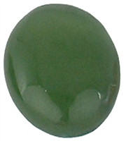 Oval Jade cabochon (8x10mm) (1pc)