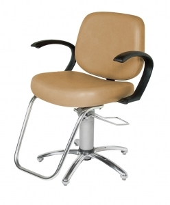 Massey Hydraulic Styling Chair with Slim-Star base