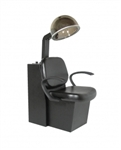 Massey Dryer Chair, base of chair in black