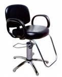 Kiva Hydraulic Styling Chair with Slim-Star base