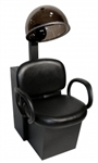 Kiva Dryer Chair, base of chair in black