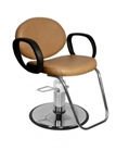 BERRA Hydraulic Styling Chair with Standard base