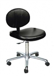 Berra Manicure Stool with casters & gas lift