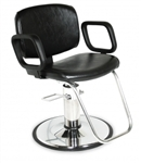 QSE Hydraulic Styling Chair with standard base