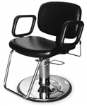 QSE Hydraulic All-Purpose Chair with standard base