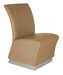 Lanai Reception Chair with Toe Kick Base