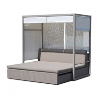 Coast Curtain Bed with Canopy