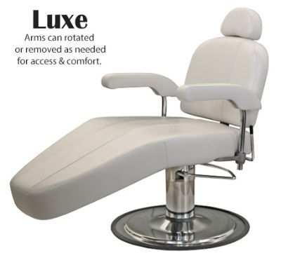 Luxe Hydraulic Facial Lounge with Headrest
