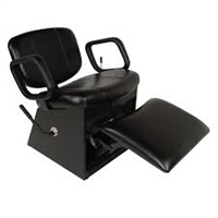 Cody Shampoo Chair with lock-in-place Kickout Legrest