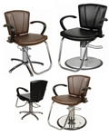 Sean Patrick Shampoo Chair-w. Kick Out Legrest