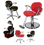 Belize Lever Control Shampoo Chair