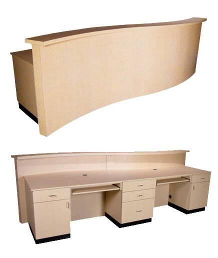 2 person reception desk Lshaped Computer Desk Person Reception Desk Larger Photo Amazoncom 2personreceptiondesk