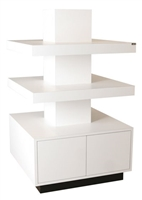 Zada Free-Standing Stacked Retail Display w/ Lights