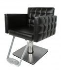 Nouveau Hydraulic Styling Chair with 20-20 Square Base