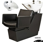 Cigno Backwash Shuttle w/ CB86 Porcelain Bowl