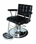HACKNEY Unisex Hydraulic All Purpose Styling & Barber Chair