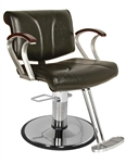 CHELSEA BA Hydraulic Styling Chair with Std Base