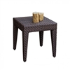 Weather Wicker End Table