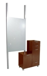 Amati Bi-Level Styling Vanity